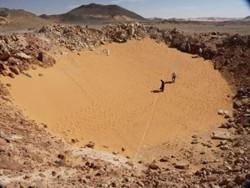 El cráter Kamil fue encontrado gracias a Google Earth