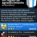 Bajar gratis las aplicaciones que BlackBerry regala por las fallas de su servicio