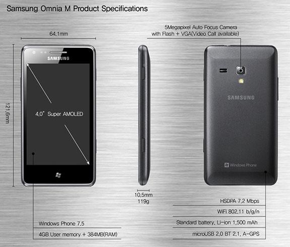 Samsung Omnia M