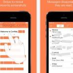 App de Mensajes que se eliminan automaticamente después de leerse