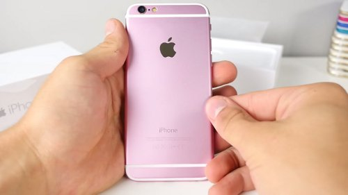 iphone rosa oro rose gold 6s