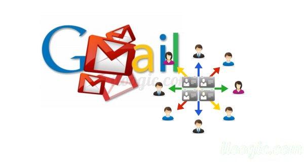 gmail grupos contactos correos