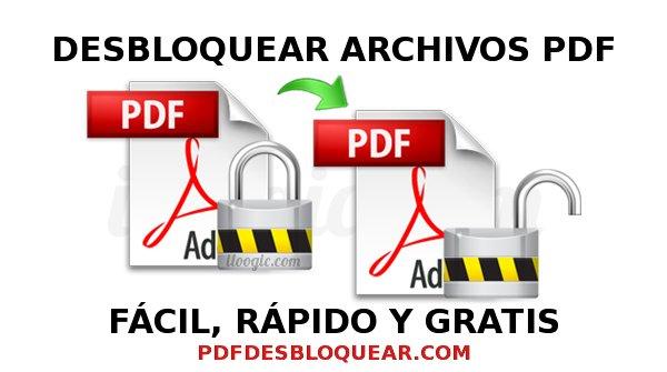 desbloquear archivo pdf gratis online contraseña