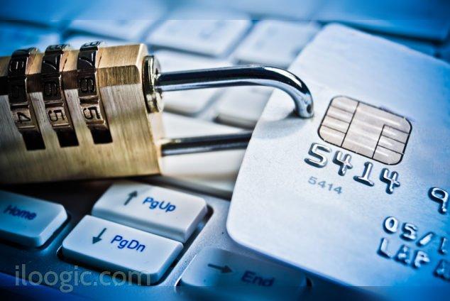 proteger datos tarjetas cuentas fraudes tarjeta credito debito candado seguridad