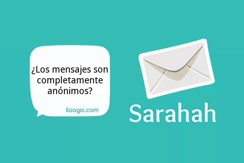 sarahah mensajes app anonimos