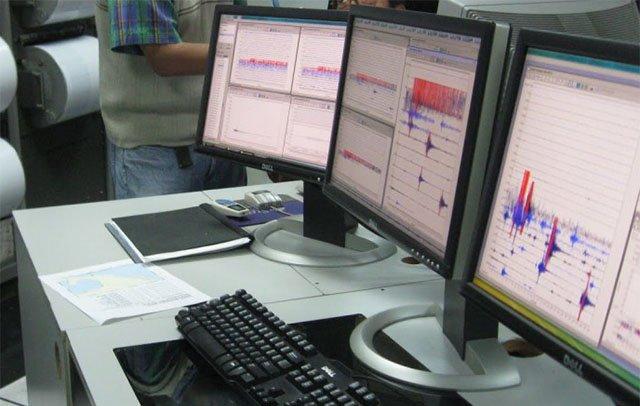 sismologico nacional equipo medir temblores
