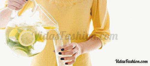 agua limon belleza digestion