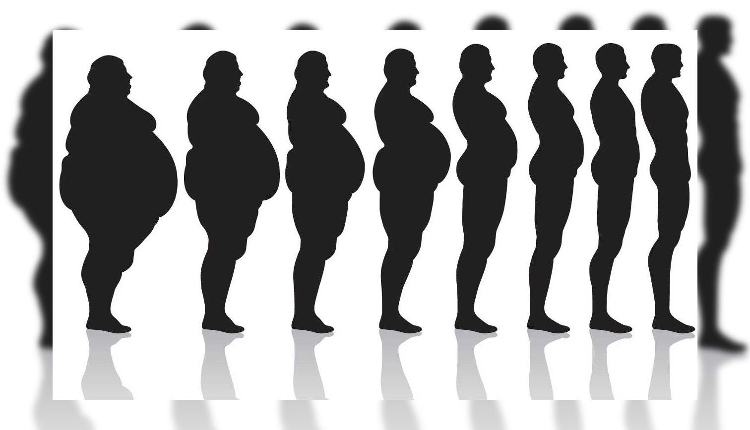 cuerpo adelgazar bajar peso gordo flaco