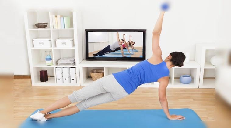 ejercicio casa gym fitness rutina hogar