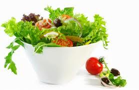 ensalada lechugas verduras jitomates