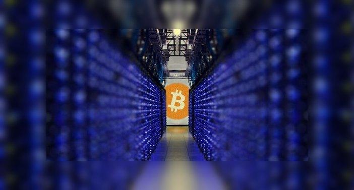 Nubes de minería de bitcoin