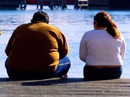 hombre gordo mujer gorda obesa obeso