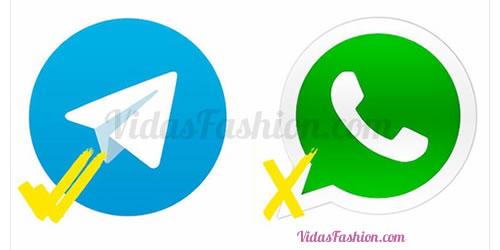 Telegram es mejor que WhatsApp