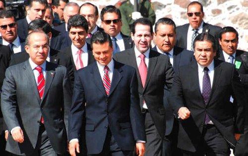 calderon pena eruviel politicos mexico