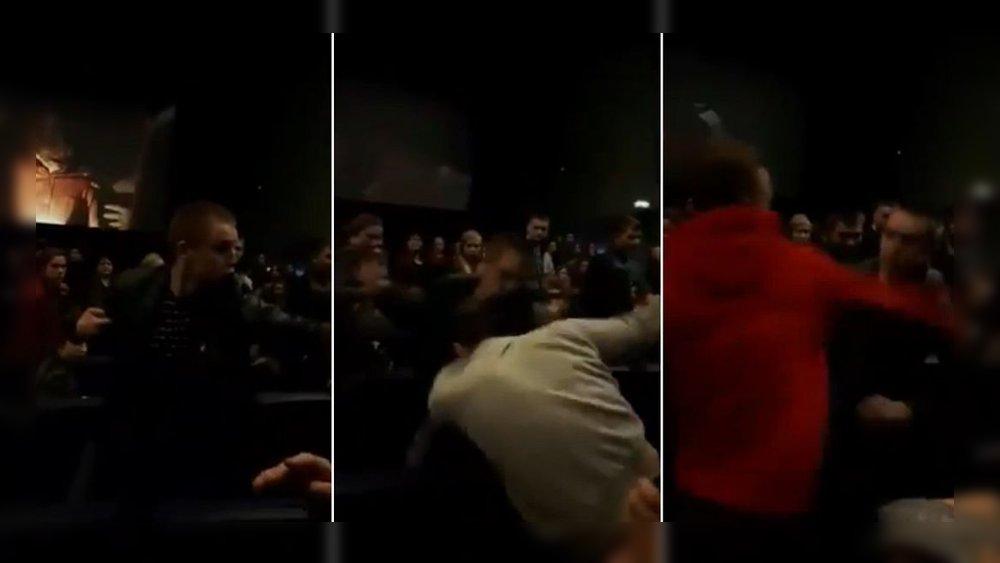 pelea cine gemidos
