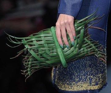 bolso palmera entre tejida fashion