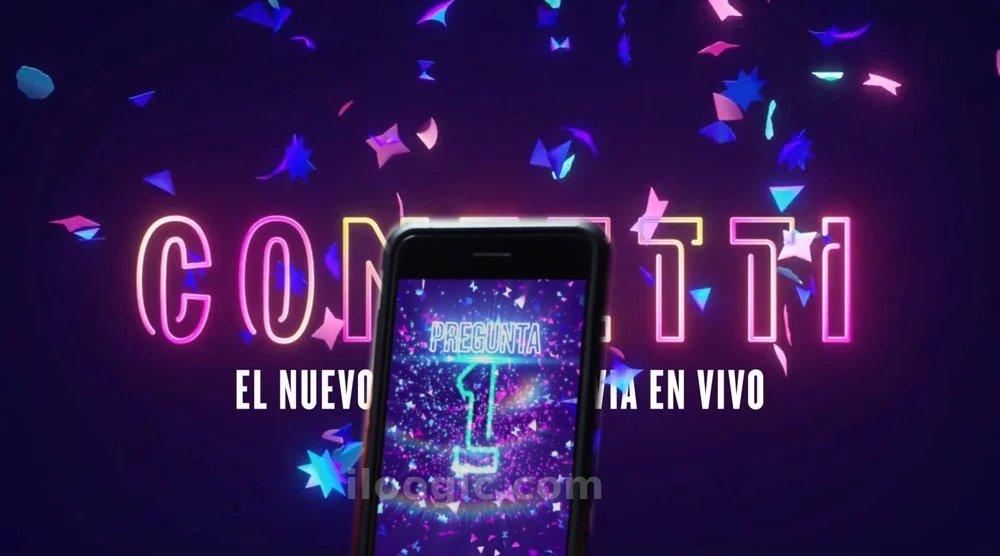 juego celular confetti facebook