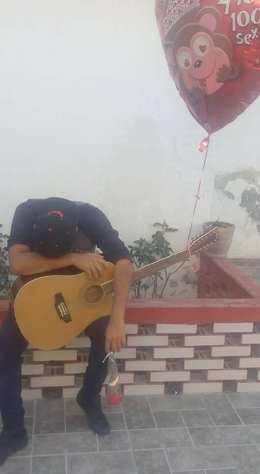 soldado caido musical guitarra