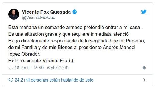 tweet fox comando armado