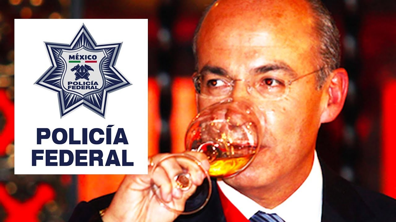 Calderón dice estar listo para representar a la Policia Federal