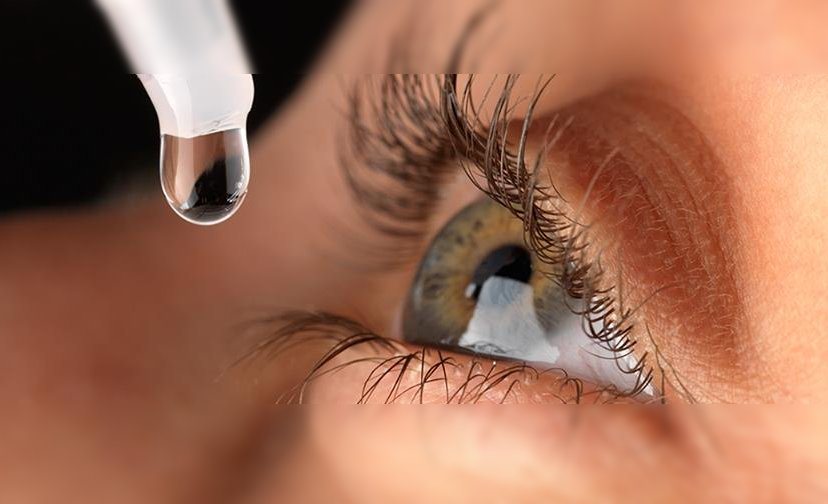 Gotas para lubricar los ojos
