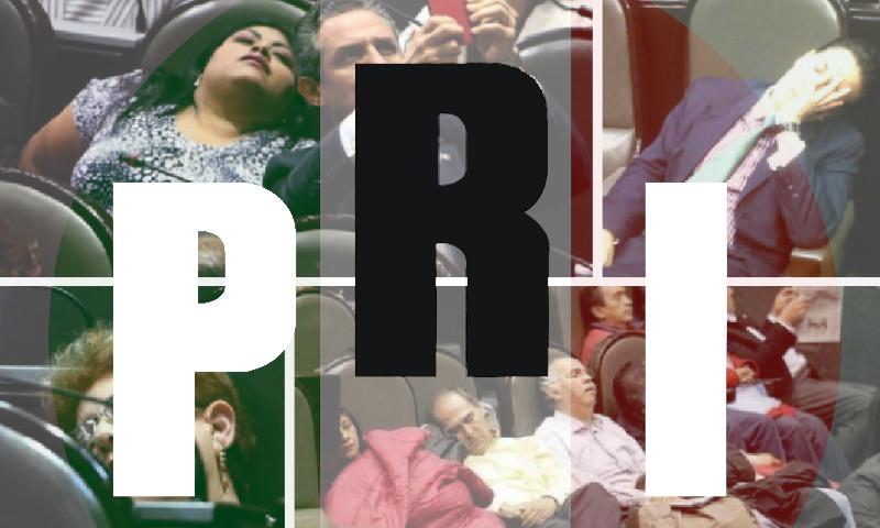 diputados pri menos productivos durmiento mexico