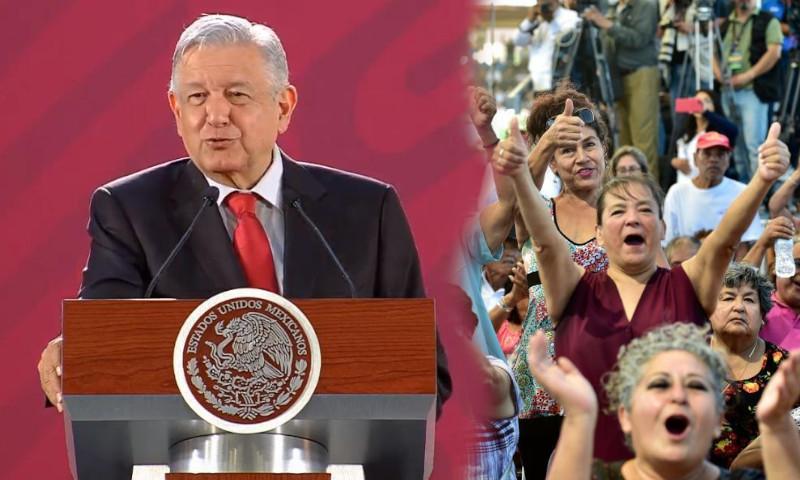 Mexicanos reafirman apoyo a AMLO pese a contracción de la economía